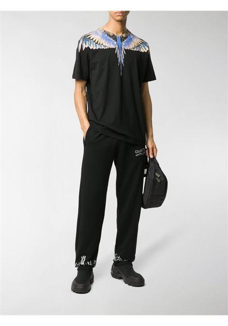 Black t-shirt MARCELO BURLON | T-SHIRT | CMAA018E20JER0011030