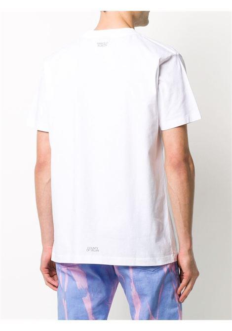 Maglia bianca MARCELO BURLON | T-SHIRT | CMAA018E20JER0160110