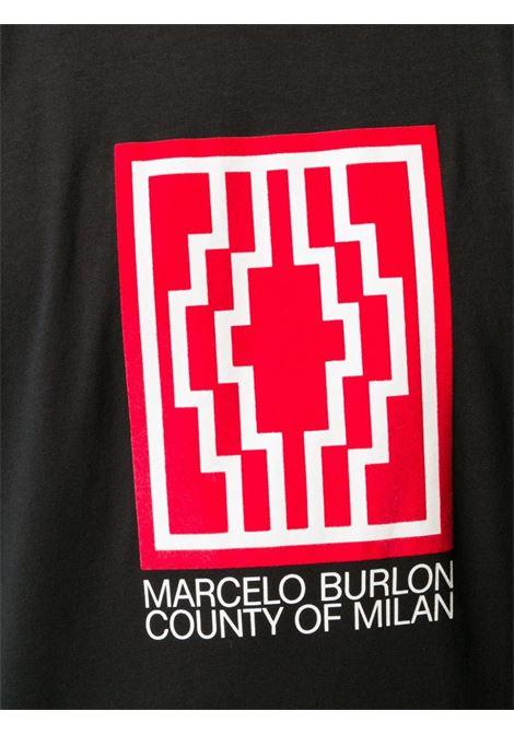 Maglia nera MARCELO BURLON | T-SHIRT | CMAA018E20JER0171001