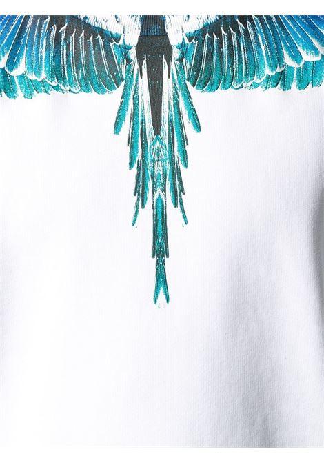 Felpa bianca MARCELO BURLON | MAGLIE | CMBA009E20FLE0010143