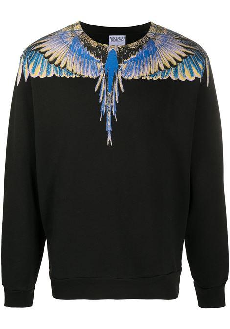 Black t-shirt MARCELO BURLON |  | CMBA009E20FLE0011030