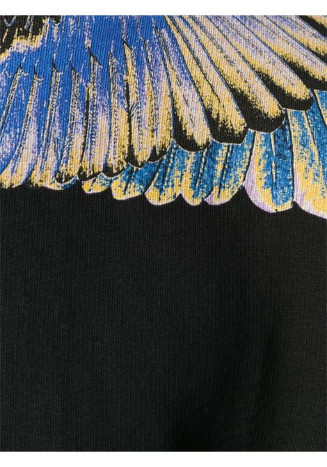 Felpa nera MARCELO BURLON | MAGLIE | CMBA009E20FLE0011030