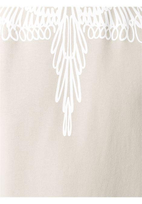 Felpa beige MARCELO BURLON | MAGLIE | CMBA009E20FLE0036101