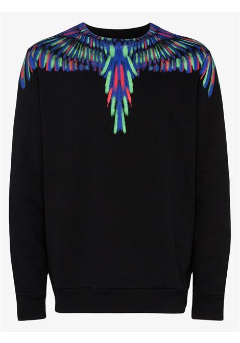 Black sweatshirt MARCELO BURLON |  | CMBA009E20FLE0041050