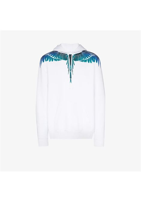 White sweatshirt MARCELO BURLON |  | CMBB007E20FLE0010143