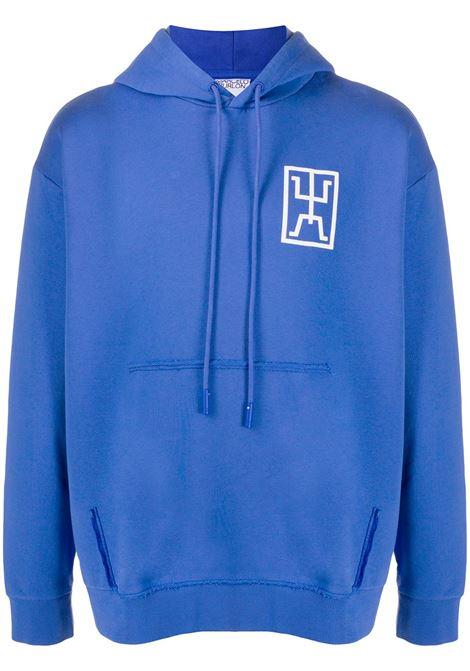 Blue sweatshirt MARCELO BURLON |  | CMBB094E20FLE0014501