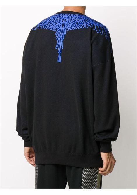 Black sweatshirt MARCELO BURLON |  | CMHE024E20KNI0021045