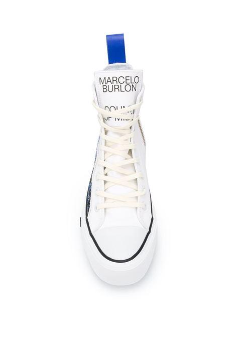 Scarpe bianche MARCELO BURLON | SNEAKERS | CMIA085E20FAB0010143