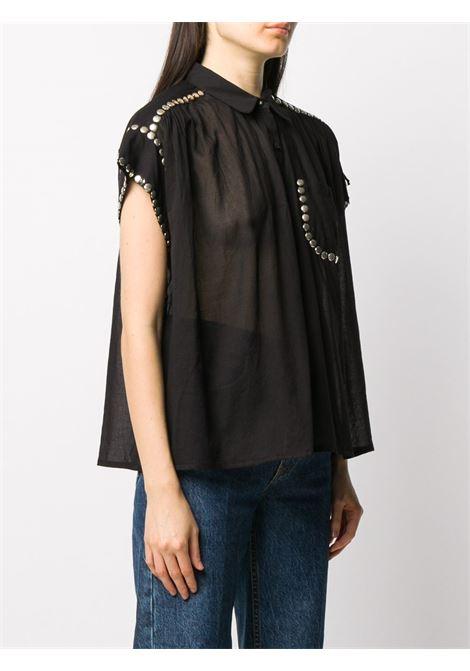 Black shirt MES DEMOISELLES |  | 202MMDKW00029BLACK