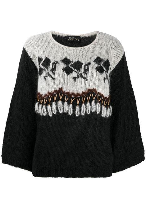 Black/white jumper MES DEMOISELLES |  | 20WMMDKW00032BLACKCO