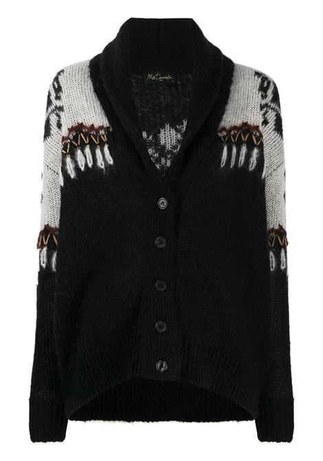 Black/white cardigan MES DEMOISELLES |  | 20WMMDKW00041BLACKCO