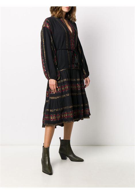 Black/multicolour dress MES DEMOISELLES |  | 20WMMDKW00054BLACKCO