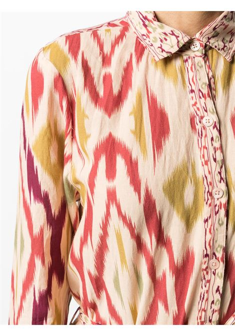 Beige/multicolour dress MES DEMOISELLES |  | 20WMMDKW00083BERRYCO