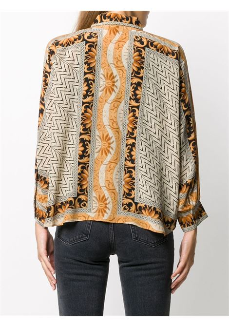 Geometric print shirt MES DEMOISELLES |  | 20WMMDKW00105BLACKGOLD