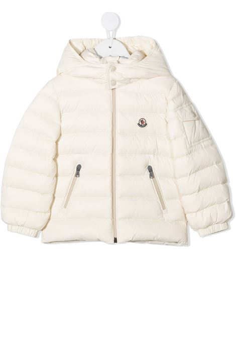 White jacket MONCLER | JACKETS | 1A5250053079201