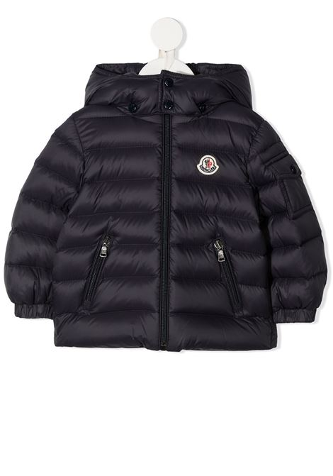 Blue jacket MONCLER | JACKETS | 1A5250053079742