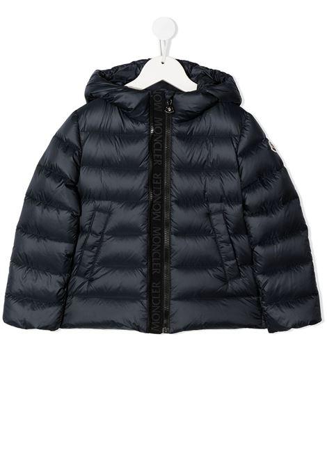 Blue jacket MONCLER | JACKETS | 1A5351053048778