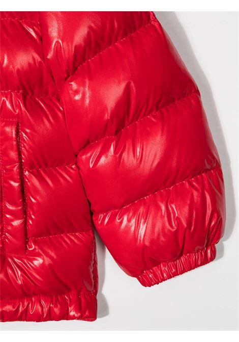 Giubbino rosso MONCLER | PIUMINI | 1A53520B68950455