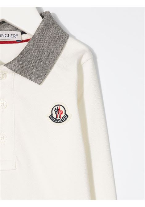 White jumper MONCLER | POLO | 8B705208496F034