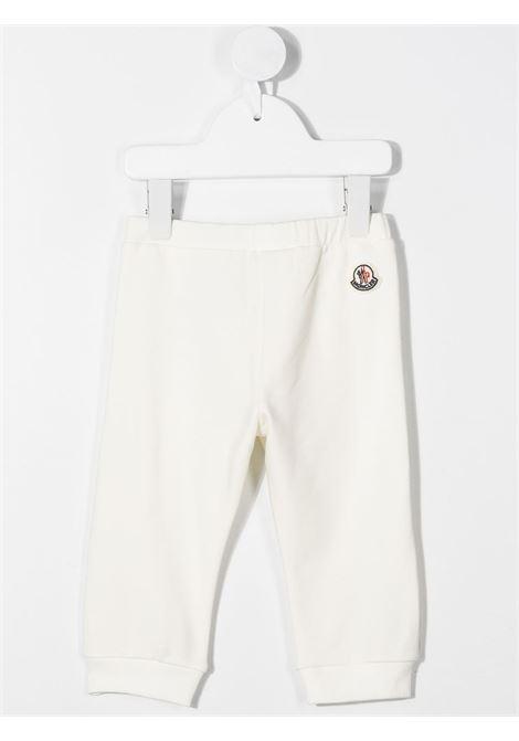 Pantalone bianco MONCLER | PANTALONI | 8H70710809EH034