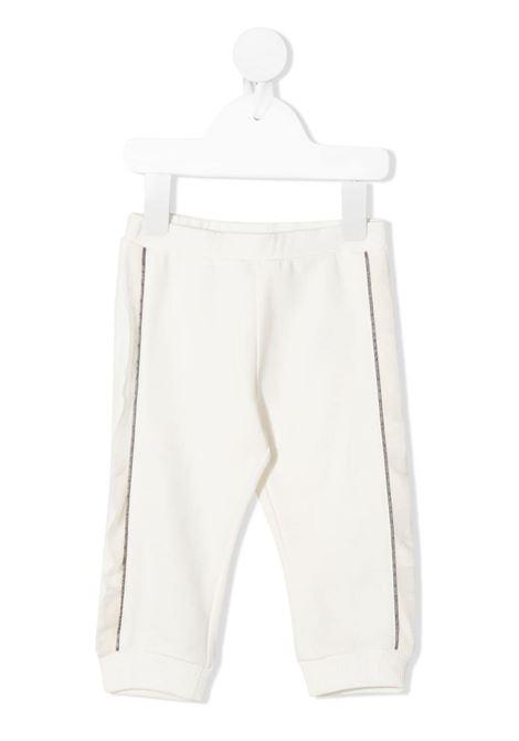 Pantalone bianco MONCLER | PANTALONI | 8H70710B809EH034