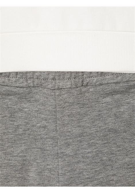Tuta bianco/grigio MONCLER | TUTE | 8M7282080996034