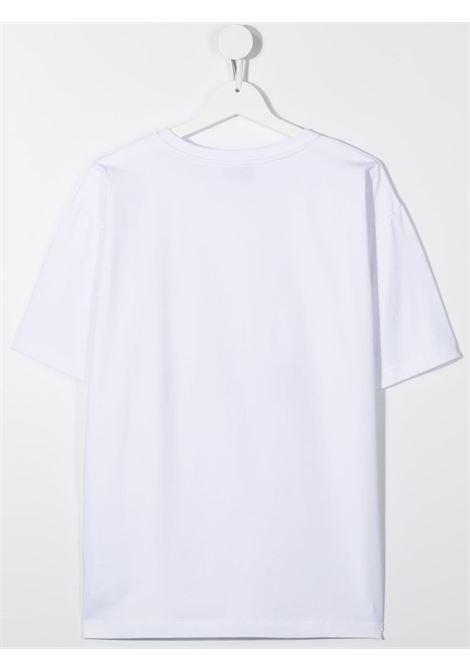 T-shirt bianca MOSCHINO | T-SHIRT | H5M029TLBA1210101