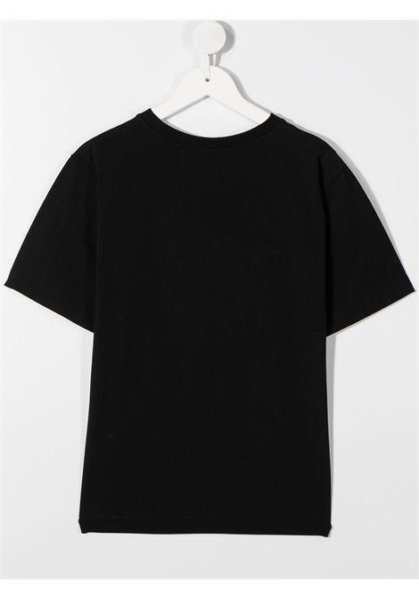 T-shirt nera MOSCHINO | T-SHIRT | H5M029TLBA1260100