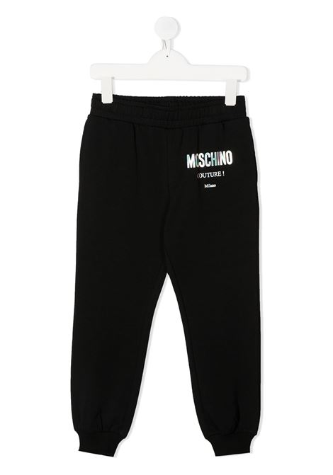 Pantaloni neri MOSCHINO | PANTALONI | HUP049LDA1660100