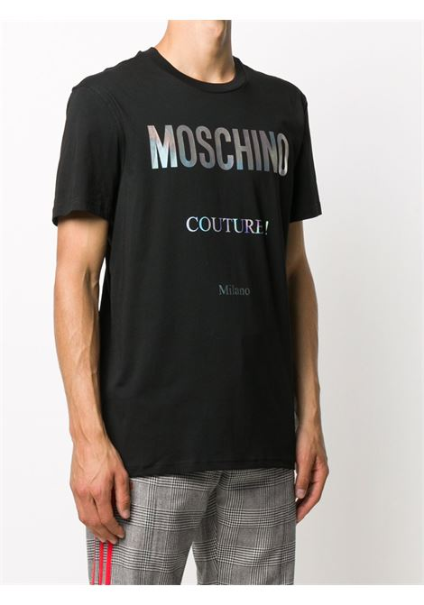 Black t- shirt MOSCHINO |  | J070852402555