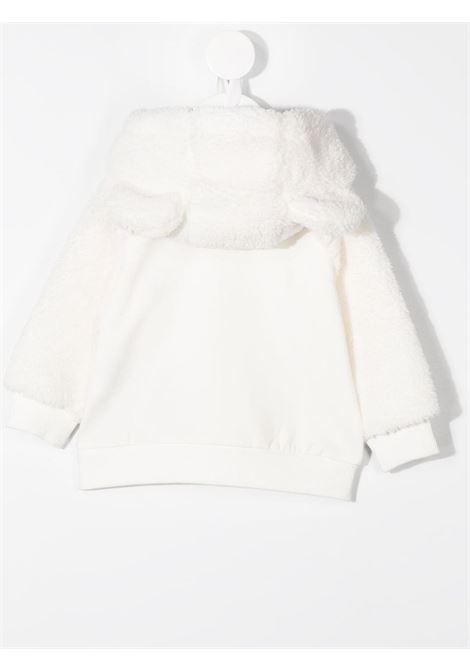 Felpa bianca MOSCHINO | FELPE | MUF03DLDA1610063