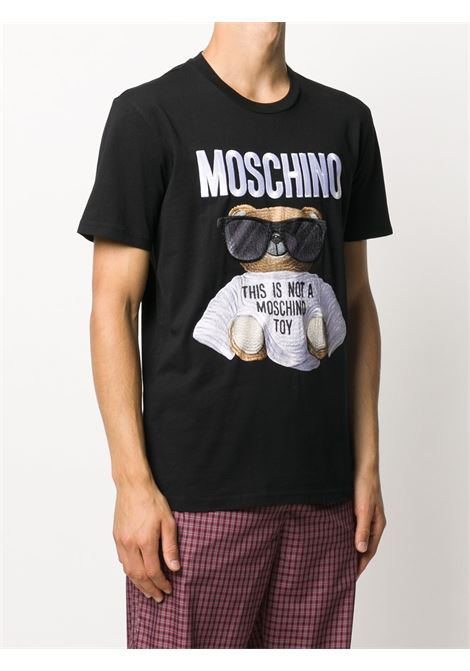 Black t-shirt MOSCHINO |  | V070152402555
