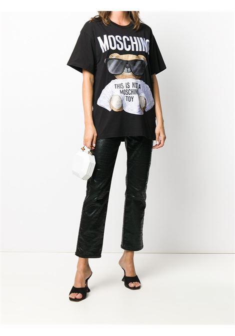 Black t-shirt MOSCHINO |  | V070655401555