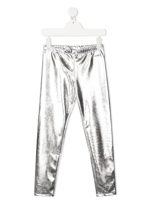 Leggings argento MSGM | LEGGINGS | 025033122