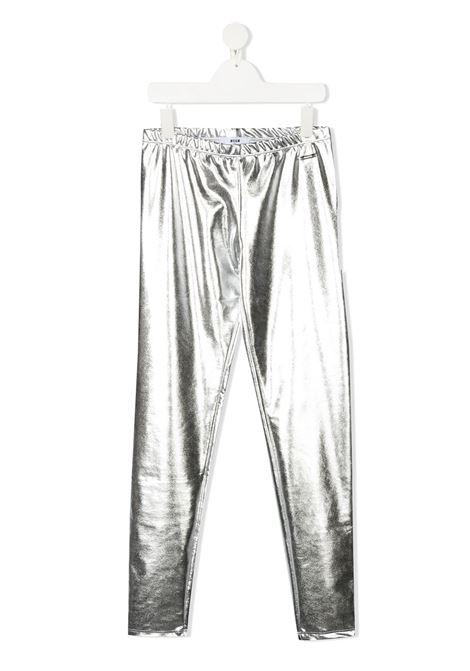 Leggings argento MSGM | LEGGINGS | 025033T122