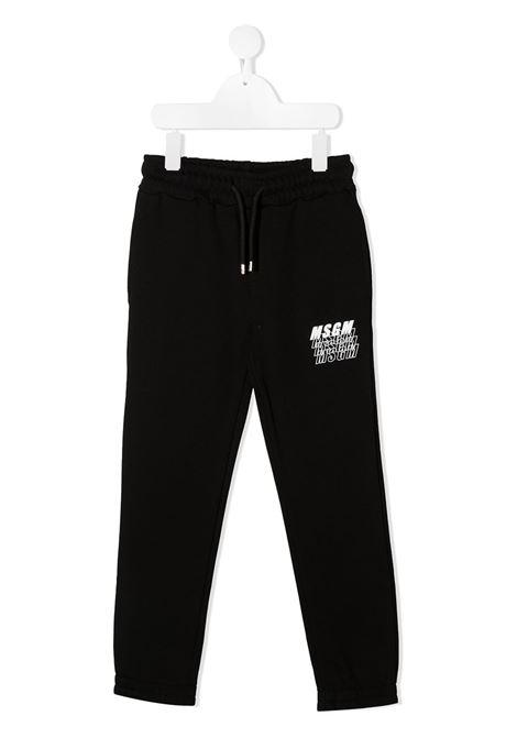 Pantalone nero MSGM | PANTALONI | 025038110