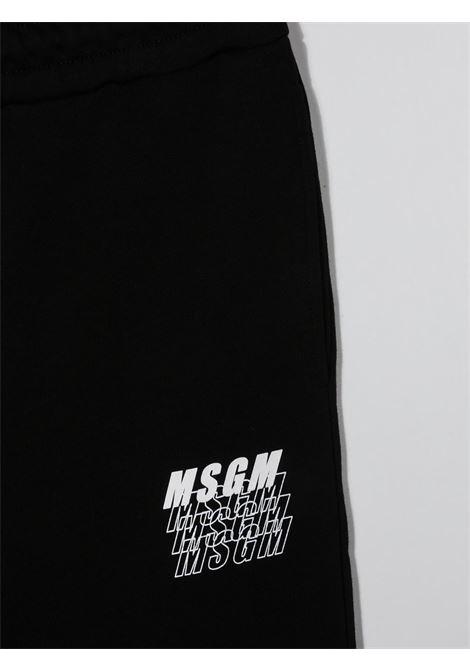 Pantalone nero MSGM | PANTALONI | 025038T110