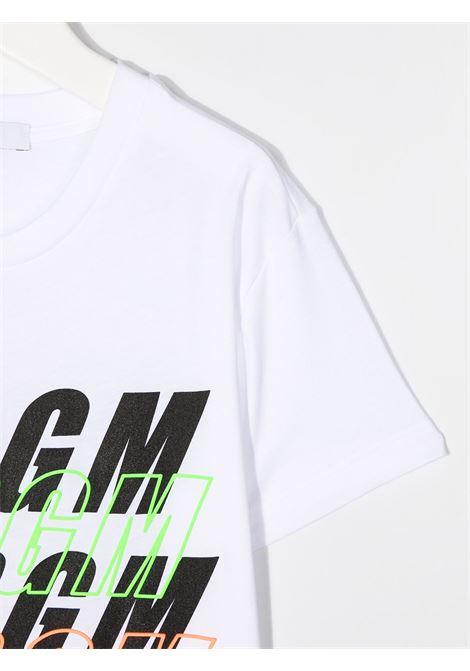 T-shirt bianca MSGM | T-SHIRT | 025042001