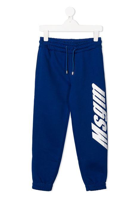 Pantalone blu MSGM | PANTALONI | 025060130