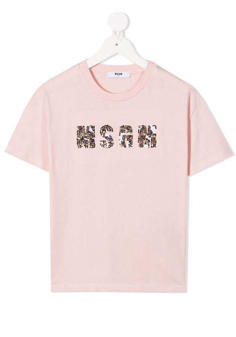 Maglia rosa MSGM | T-SHIRT | 025084042