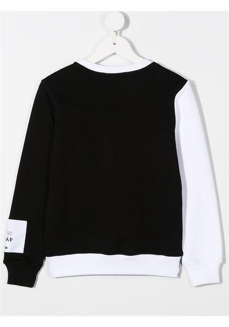 Felpa bianco/nera MSGM | FELPE | 02516800101