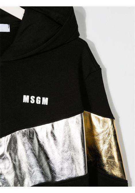 Felpa nera MSGM | FELPE | 025180110