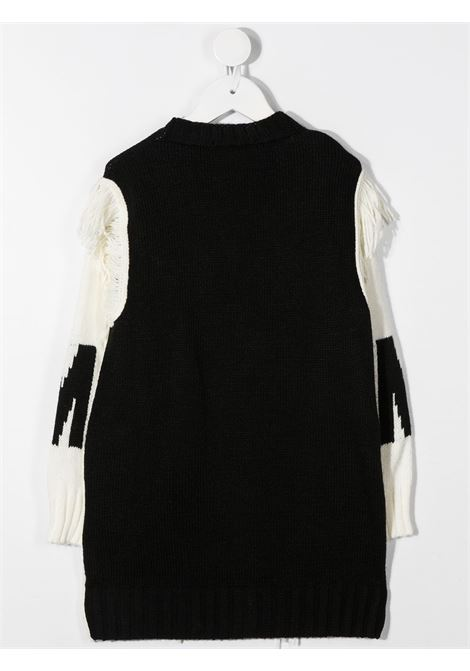 White/black cardigan MSGM | CARDIGAN | 025186110