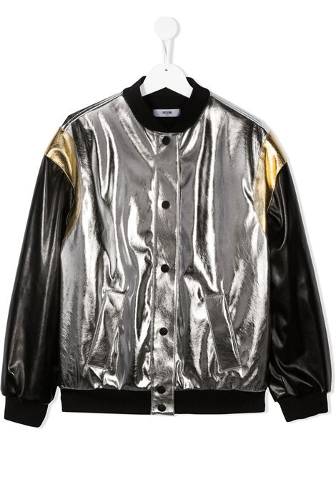 Giacca argento MSGM | BOMBER | 025191T122
