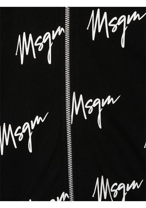 Felpa nera MSGM | FELPE | 025288110