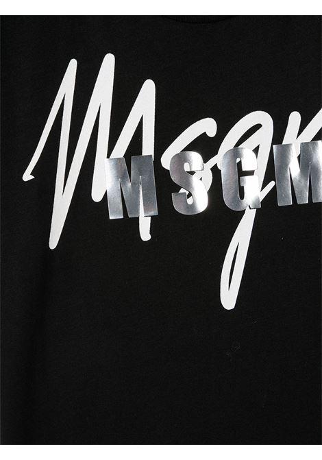 T-shirt nera MSGM | T-SHIRT | 025297110