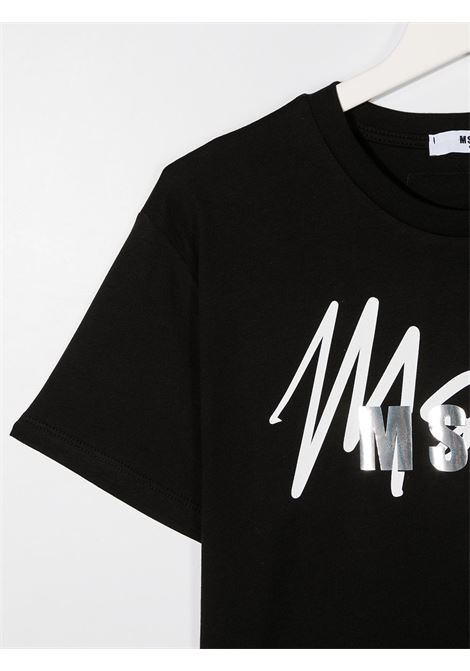 T-shirt nera MSGM | T-SHIRT | 025297T110