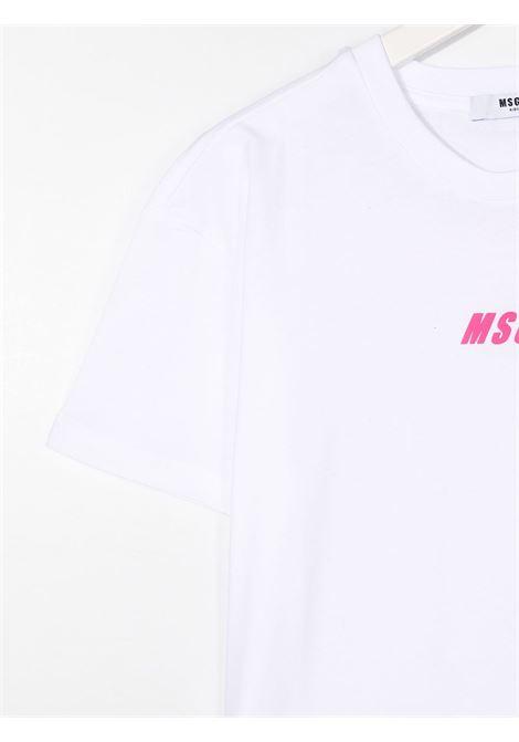 Maglia bianca MSGM | T-SHIRT | 025814001