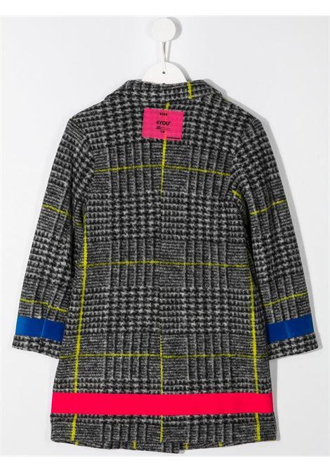 Cappotto grigio MSGM | CAPPOTTI | 025923200