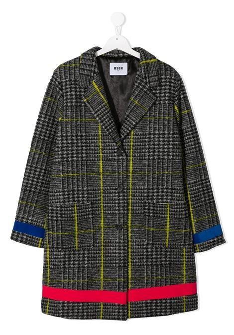 Grey coat MSGM | COAT | 025923T200